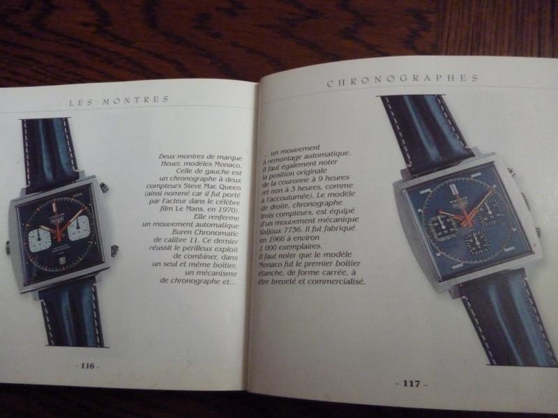 Présentation Heuer Monaco 3 compteurs Vintage. ( produit seulement à environ 1000 ex  en tout avec 3 versions de cadran différents) La_fol10