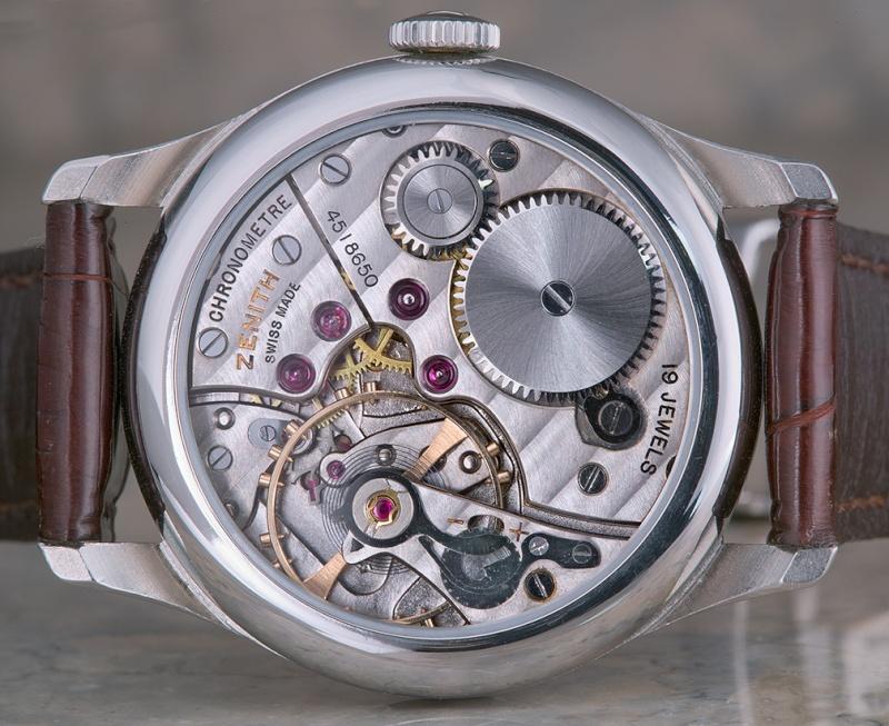 Les plus beaux calibres de montres mécaniques vintages et contemporains du monde ... Mzenit10
