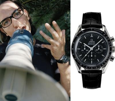 Les montres dans les films Omega-10