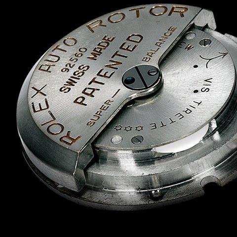 Le remontage automatique appliquée à la montre-bracelet Oyster10