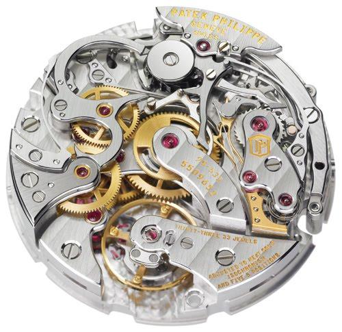 Les plus beaux calibres de montres mécaniques vintages et contemporains du monde ... Patek_36