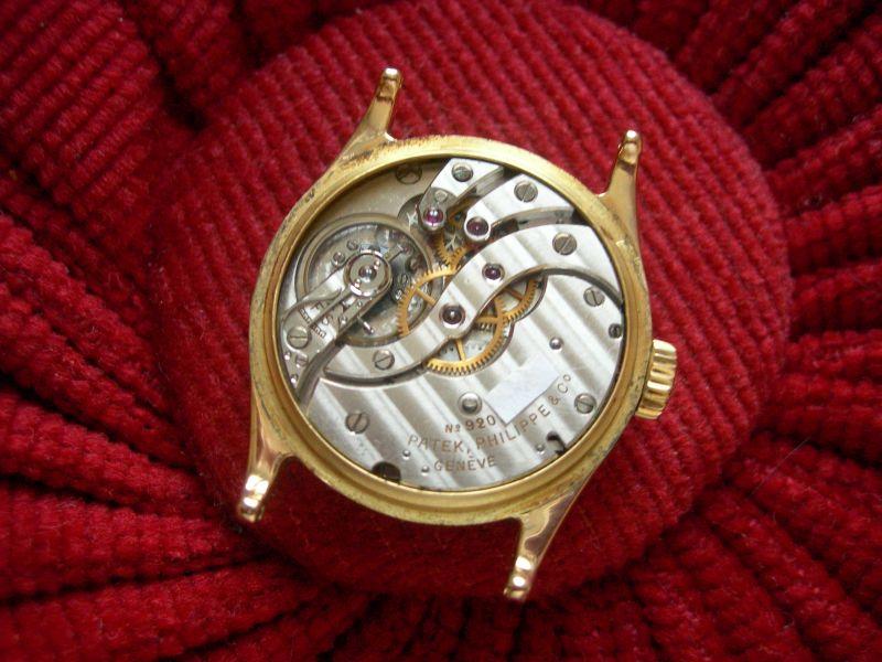 Les plus beaux calibres de montres mécaniques vintages et contemporains du monde ... Patekp10