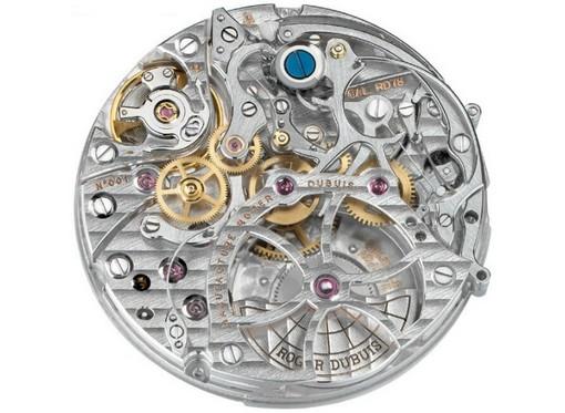 Les plus beaux calibres de montres mécaniques vintages et contemporains du monde ... Roger-10