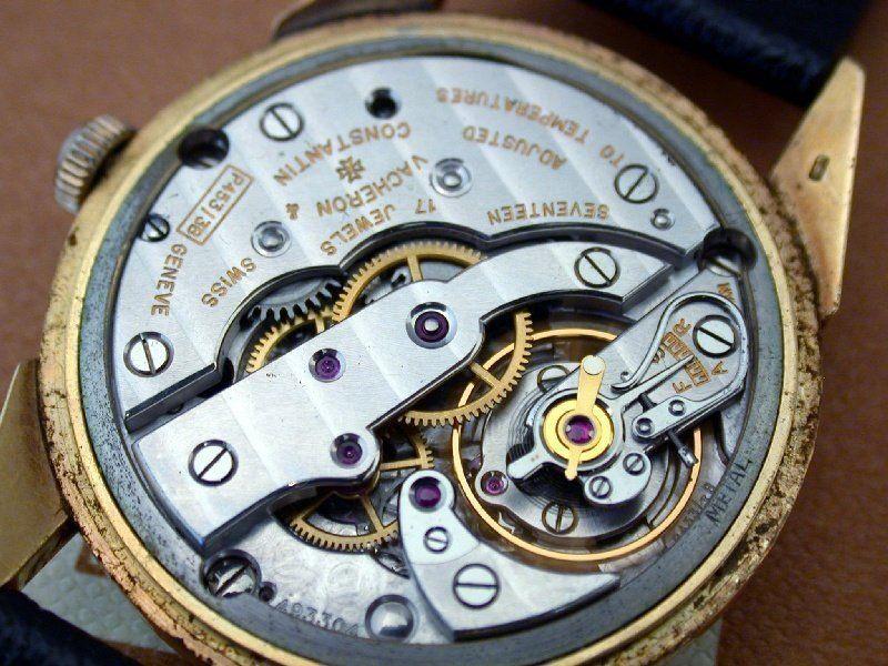 Les plus beaux calibres de montres mécaniques vintages et contemporains du monde ... Vacher10