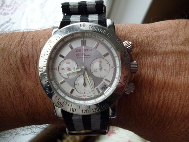 La montre préférée de votre collection, une tite photo svp qu'on mire Zenith12
