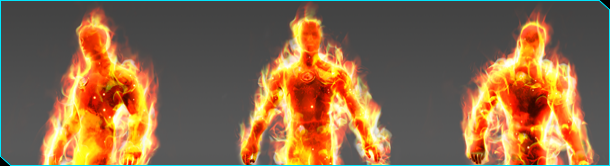 Flame On with Human Torch Humant10