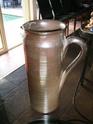 Tall marked jug - signature and FRANCE P4090110