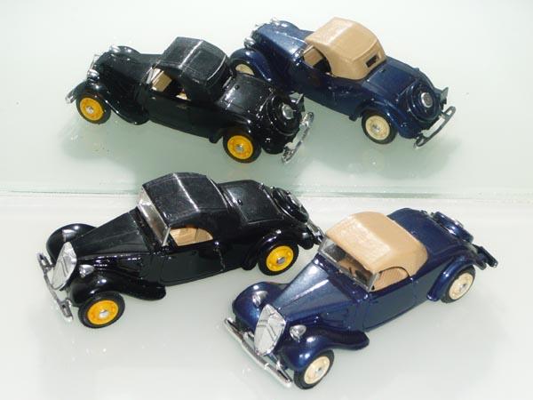 Eligor - les traction Avant 11 BL de 1938 et 7Cv de 1936 43_cab10