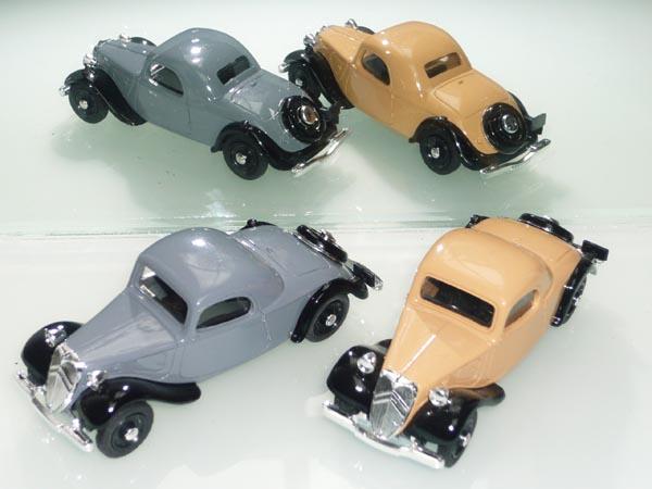 Eligor - les traction Avant 11 BL de 1938 et 7Cv de 1936 50_lea10
