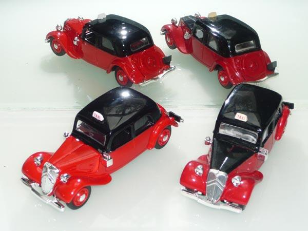 Eligor - les traction Avant 11 BL de 1938 et 7Cv de 1936 9_taxi10
