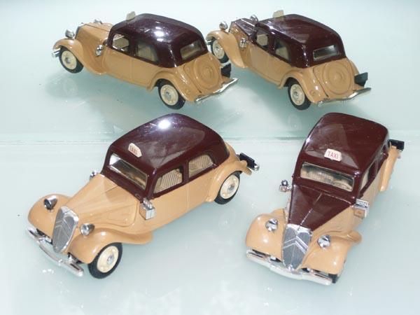 Eligor - les traction Avant 11 BL de 1938 et 7Cv de 1936 9_taxi11