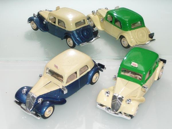 Eligor - les traction Avant 11 BL de 1938 et 7Cv de 1936 9_taxi12