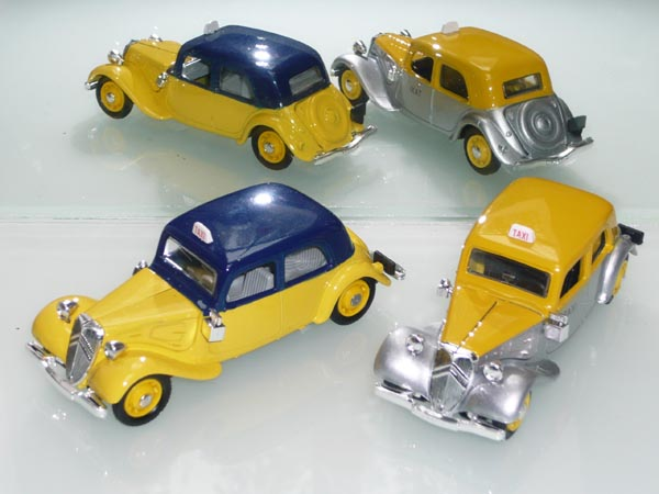 Eligor - les traction Avant 11 BL de 1938 et 7Cv de 1936 9_taxi13