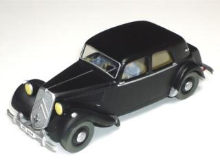 Les voitures de Tintin, la Citroën 15/6 Jante_11