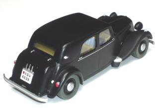 Les voitures de Tintin, la Citroën 15/6 Jante_12