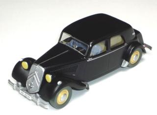 Les voitures de Tintin, la Citroën 15/6 Jante_13