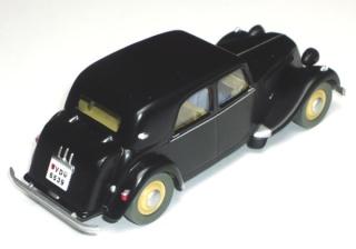 Les voitures de Tintin, la Citroën 15/6 Jante_14