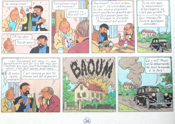 Les voitures de Tintin, la Citroën 15/6 P26_pr10