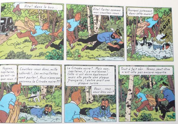 Les voitures de Tintin, la Citroën 15/6 P35_110
