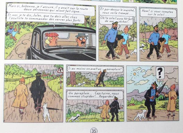 Les voitures de Tintin, la Citroën 15/6 P35_210