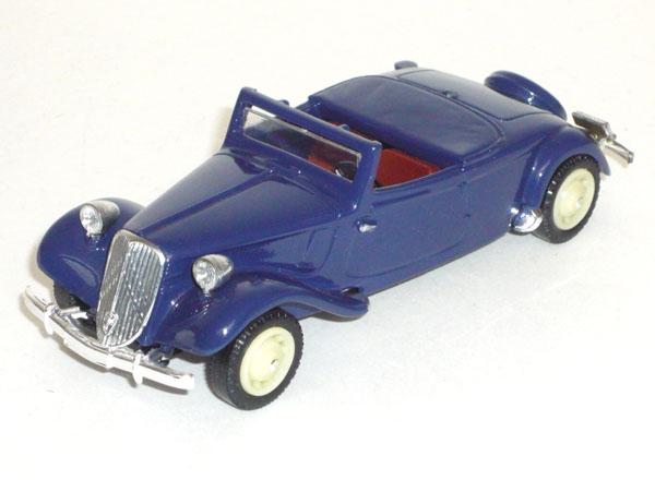 La 15/6 cabriolet 1939 en miniature V_100119