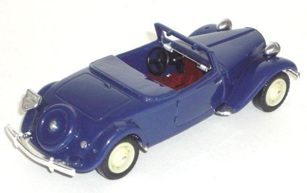 La 15/6 cabriolet 1939 en miniature V_100120
