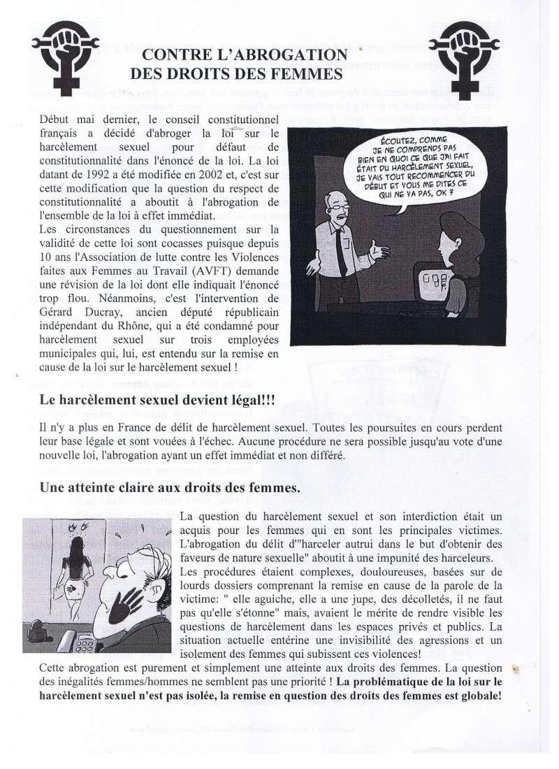 tract sur l'abrogation de la loi sur le harcèlement sexuel 00410