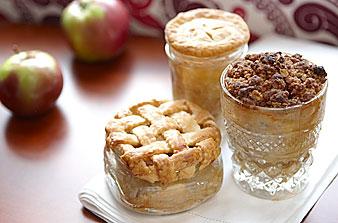Tarte aux pommes dans un pot Apple-11