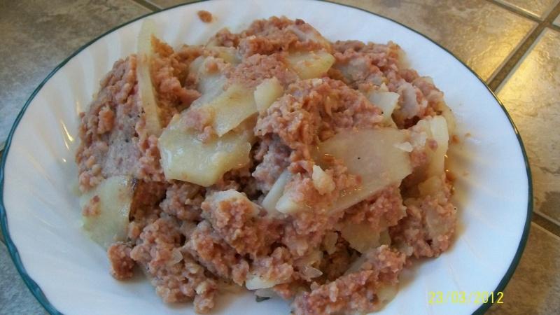 Casserole de jambon au céleri Carres13