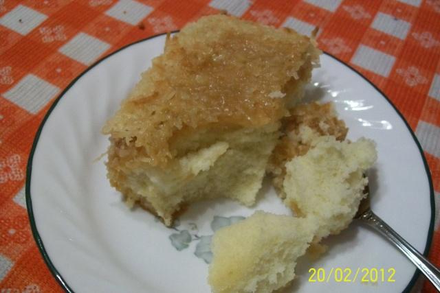 Gâteau au coconut magique Denise11