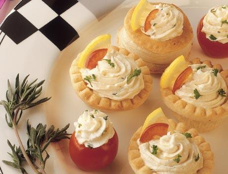 Mousse aux huîtres et fromage Garnit10