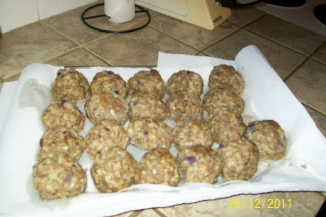 Polpettes italiennes(boulettes) Nov20119