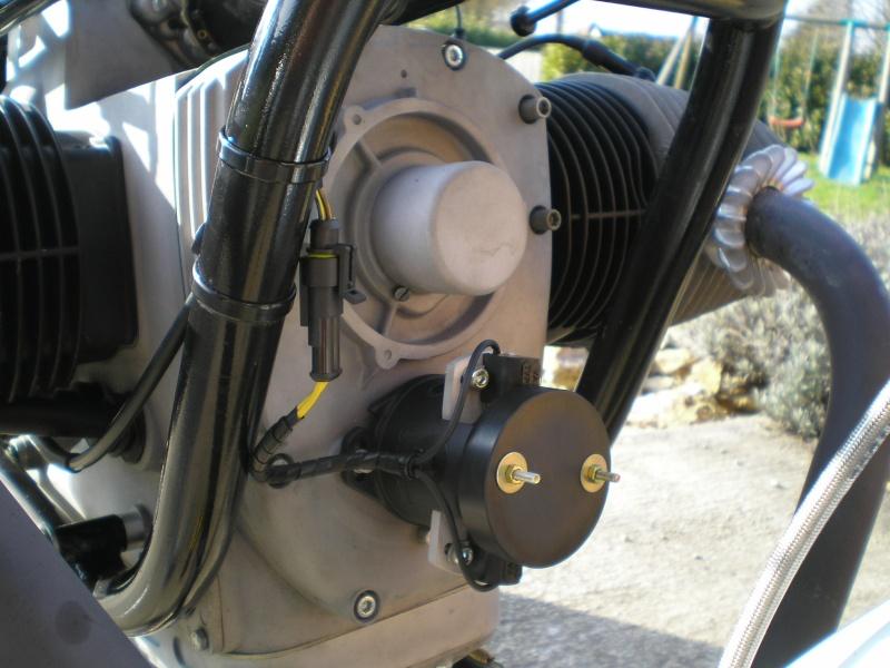 Montage d'un allumage programmable ignitech sur mon flat de piste... et ça marche! enfin ça démarre P3140010