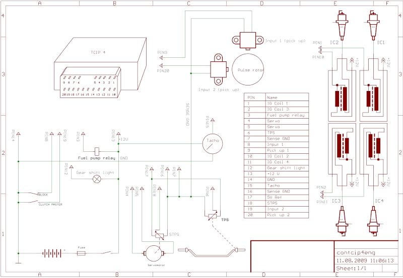 Montage d'un allumage programmable ignitech sur mon flat de piste... et ça marche! enfin ça démarre Tcip4-10