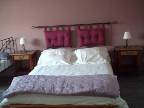 Idée Chambre Vieux Rose   Lin Photo_64
