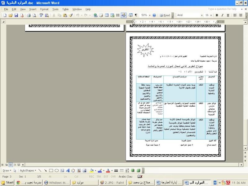 تقرير2012 للموارد البشرية 311