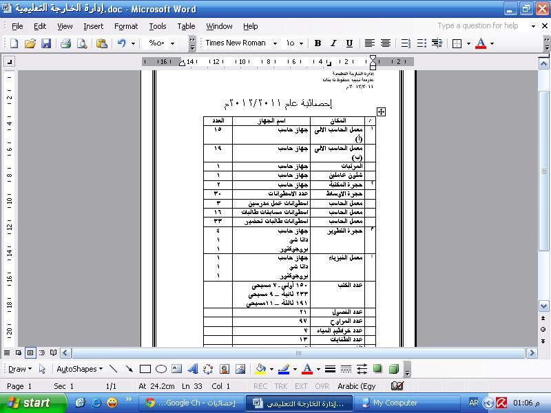 إحصائية لعام 2011/2012م  Ooouoo10