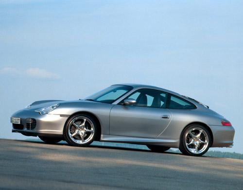 Jantes alu Porsche 911 40ème Anniversaire et pneus Trueno10
