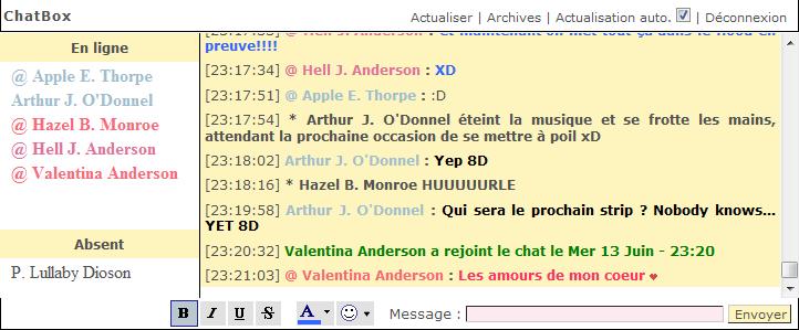 La Chat Box - Moment de débauche - Page 4 S1210