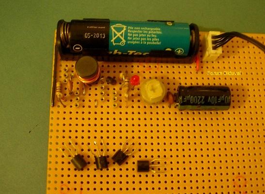 Un projet de compteur geiger à transistors - Page 2 Oter10