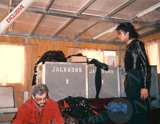 Michael Bush parla di MJ nel suo libro Michae34