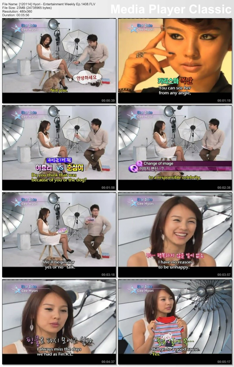 [120114] Hyori - Star Date @ Entertainment Weekly Ep.1408 12011410