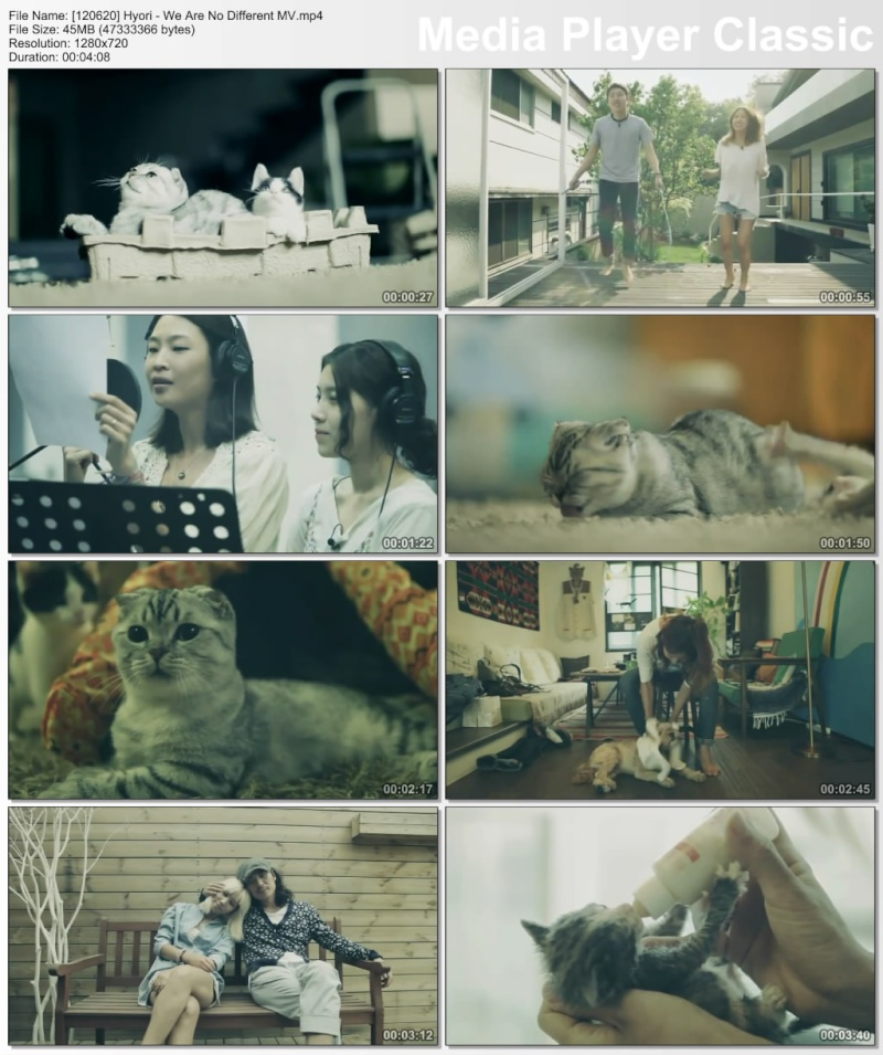 [120620] Hyori - We Are No Different MV [45M/mp4] 12062010
