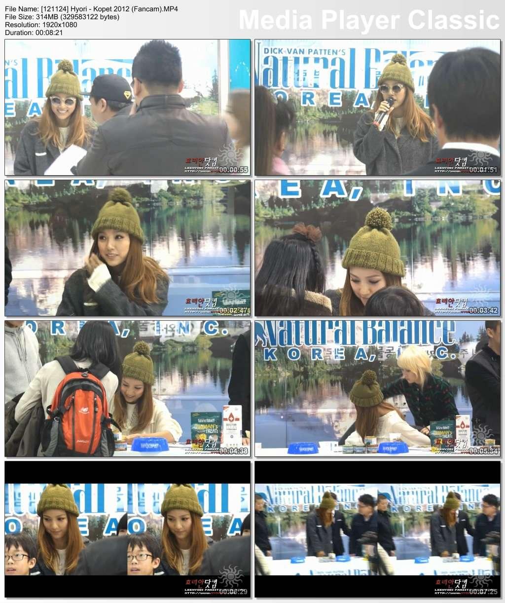 [121124] Hyori - Kopet 2012 (Fancam) 12112410