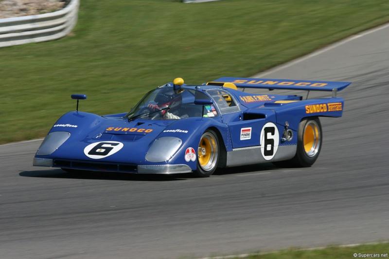 Les grandes Ferrari de l'endurance. Voitur11