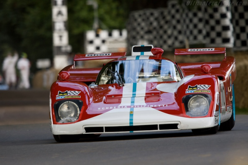 Les grandes Ferrari de l'endurance. Voitur13