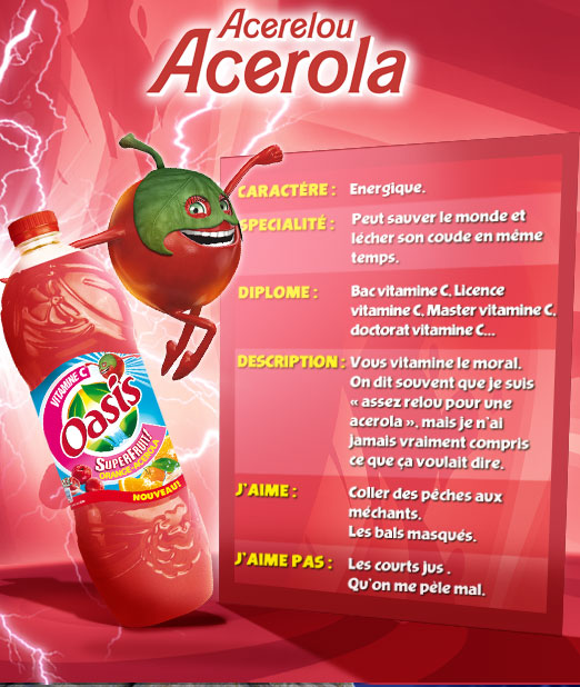 Acérelou Acérola Fruitf10