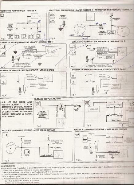 bmw e36 325i an 1991 montage alarme meta system m8700 basic. Black Bedroom Furniture Sets. Home Design Ideas