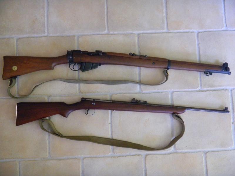 war office pattern miniature rifle. en calibre 22lr. Dscn1113