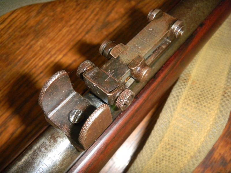 war office pattern miniature rifle. en calibre 22lr. Dscn1116